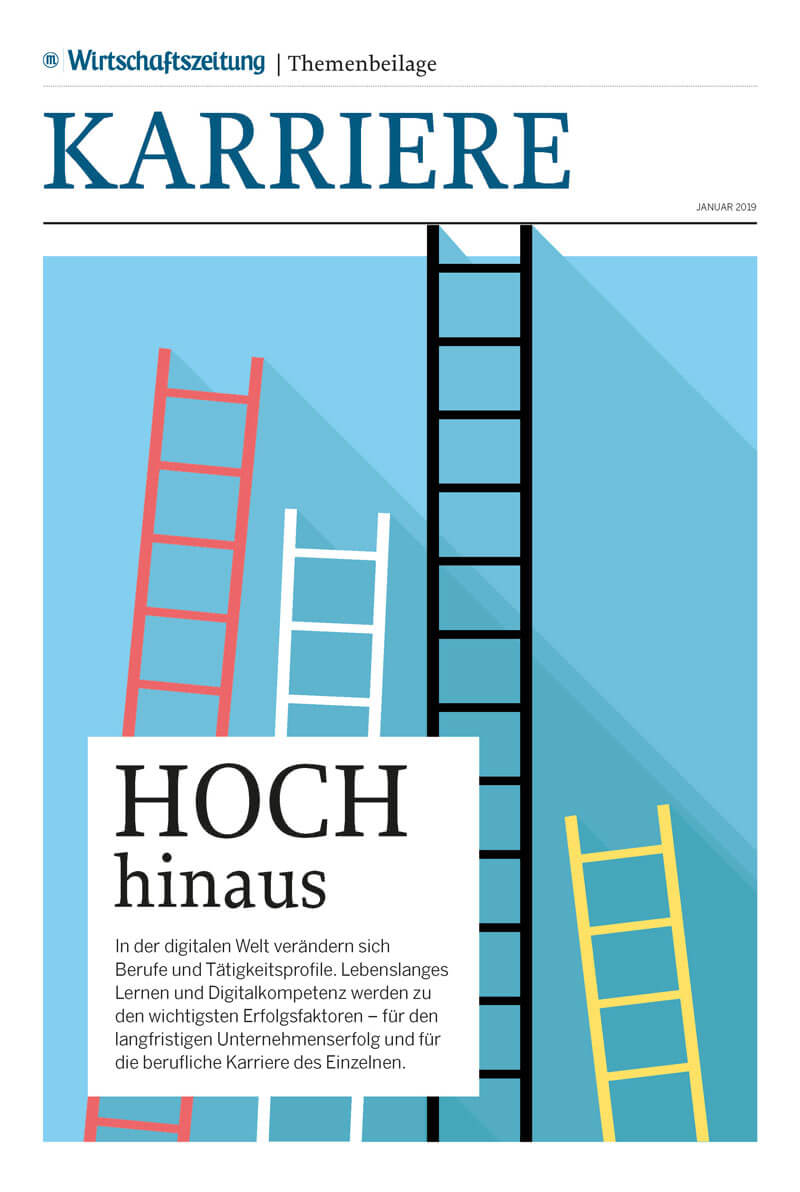Karriere - Hoch hinaus Cover